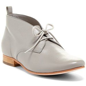 "Cole Haan ""Stellan Chukka"" Gray Leather Shoes"